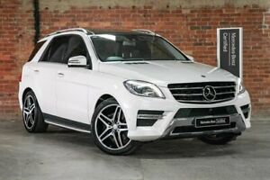 2014 Mercedes-Benz M-Class W166 ML500 White Sports Automatic Mulgrave Monash Area Preview