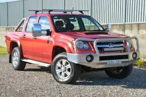 2011 Holden Colorado RC MY11 LT-R Crew Cab Red 5 Speed Manual Utility Wyong Wyong Area Preview