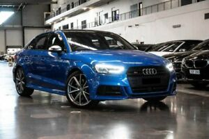 2018 Audi S3 8V (No Badge) Blue Sports Automatic Dual Clutch Westmeadows Hume Area Preview