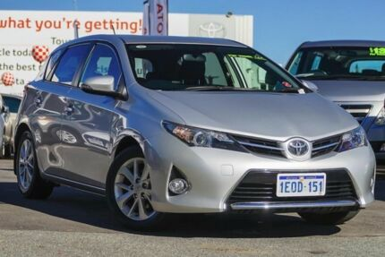 2014 Toyota Corolla ZRE182R Ascent Sport S-CVT Silver Pearl 7 Speed Constant Variable Hatchback