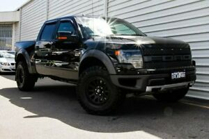 2014 Ford F150 White Automatic Utility