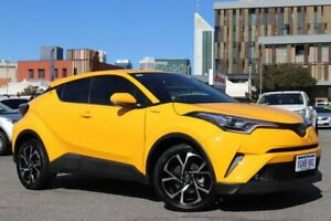 2018 Toyota C-HR NGX10R Update Koba (2WD) Hornet Yellow Continuous Variable Wagon