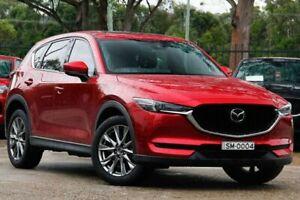 2018 Mazda CX-5 KF4W2A Akera SKYACTIV-Drive i-ACTIV AWD Red 6 Speed Sports Automatic Wagon Gateshead Lake Macquarie Area Preview