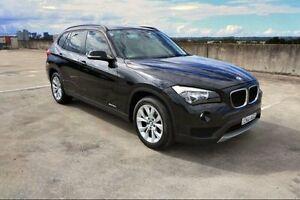 2013 BMW X1 E84 LCI sDrive20i Steptronic Black 8 Speed Sports Automatic Wagon Haymarket Inner Sydney Preview