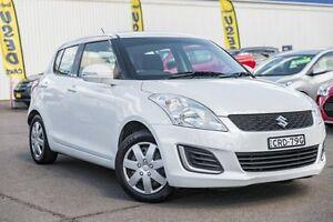 2013 Suzuki Swift FZ GA White 4 Speed Automatic Hatchback Kings Park Blacktown Area Preview
