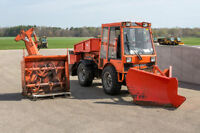 Used Holder C 9700 Tractor, Snowblower, Rear Spreader and V Plow