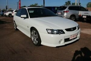 2003 Holden Commodore VY II SS White 4 Speed Automatic Sedan Stuart Park Darwin City Preview