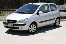 2010 Hyundai Getz TB MY09 S Silver 5 Speed Manual Hatchback Helensvale Gold Coast North Preview