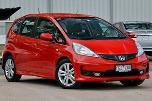 2011 Honda Jazz Red Sports Automatic Hatchback Ferntree Gully Knox Area Preview