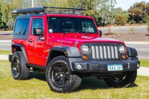 2012 Jeep Wrangler JK MY2012 Rubicon Red 6 Speed Manual Softtop Clarkson Wanneroo Area Preview