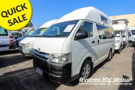 U3888 Toyota Hiace Talvor High Top 3 Berth - Perfect Weekender Penrith Penrith Area Preview