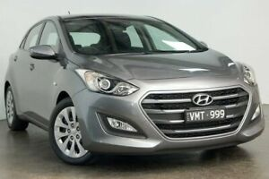 2017 Hyundai i30 GD4 Series II MY17 Active Silver 6 Speed Sports Automatic Hatchback South Melbourne Port Phillip Preview