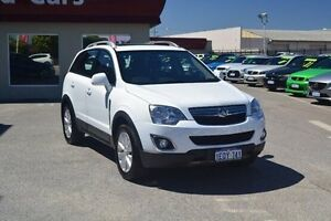 2014 Holden Captiva CG MY14 5 LT White 6 Speed Sports Automatic Wagon Bayswater Bayswater Area Preview