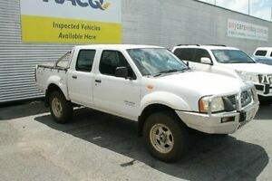 2005 Nissan Navara D22 MY2003 DX White 5 Speed Manual Utility Bungalow Cairns City Preview