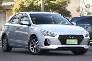 2018 Hyundai i30 PD MY18 Active Silver 6 Speed Sports Automatic Hatchback Condell Park Bankstown Area Preview