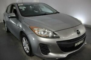 2010 Mazda 3 BL10F1 Neo Silver 6 Speed Manual Hatchback Maryville Newcastle Area Preview