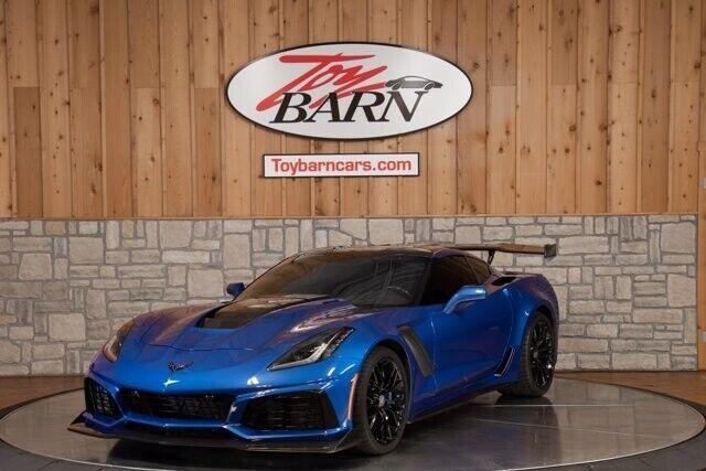 2019 Chevrolet Corvette ZR1 3ZR Elkhart Lake Blue Metallic 2dr Car Gas V8 6.2L/3