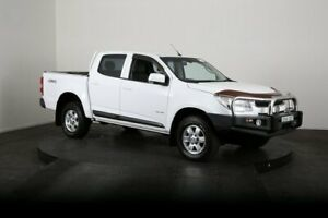 2013 Holden Colorado RG LX (4x4) White 5 Speed Manual Crew Cab Chassis McGraths Hill Hawkesbury Area Preview