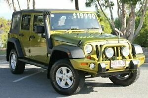2007 Jeep Wrangler JK Unlimited Sport Green 4 Speed Automatic Softtop Bungalow Cairns City Preview