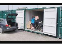 Storage container unit