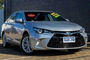 2017 Toyota Camry ASV50R Atara SL Silver 6 Speed Sports Automatic Sedan