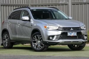 2018 Mitsubishi ASX XC MY18 LS 2WD ADAS Sterling Silver 6 Speed Constant Variable Wagon Wantirna South Knox Area Preview