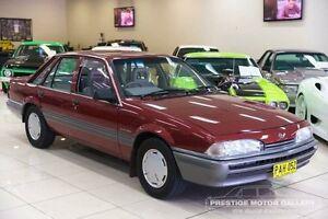 1988 Holden Commodore VL SL Burgundy 5 Speed Manual Sedan Carss Park Kogarah Area Preview