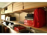 SPUR Slotted Angle Shelving complete with Shelves
