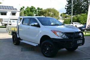 2012 Mazda BT-50 White 6 Speed Automatic Dual Cab Beaudesert Ipswich South Preview