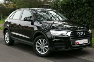 2018 Audi Q3 8U MY18 TFSI S Tronic Black 6 Speed Sports Automatic Dual Clutch Wagon Parkside Unley Area Preview