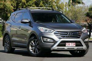 2014 Hyundai Santa Fe DM MY14 Elite Grey 6 Speed Sports Automatic Wagon Chermside Brisbane North East Preview