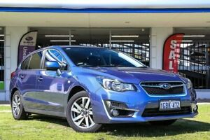 2016 Subaru Impreza G4 MY16 2.0i Lineartronic AWD Premium Blue 6 Speed Constant Variable Hatchback Victoria Park Victoria Park Area Preview