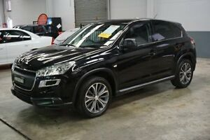2012 Peugeot 4008 MY12 Active 2WD Black 6 Speed Constant Variable Wagon Old Guildford Fairfield Area Preview