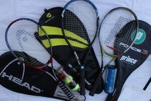 Tennis Racquets Wilson Hyper Carbon 4.3 Hammer racket grip size