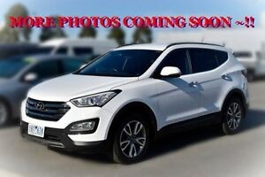 2014 Hyundai Santa Fe DM MY14 Elite White 6 Speed Sports Automatic Wagon Pakenham Cardinia Area Preview
