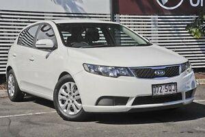 2012 Kia Cerato TD MY12 S White 6 Speed Sports Automatic Hatchback Mount Gravatt Brisbane South East Preview