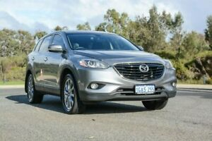 2015 Mazda CX-9 TB10A5 Luxury Activematic Silver 6 Speed Sports Automatic Wagon