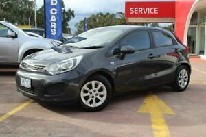 2014 Kia Rio UB MY14 S Grey 4 Speed Sports Automatic Hatchback Dandenong Greater Dandenong Preview