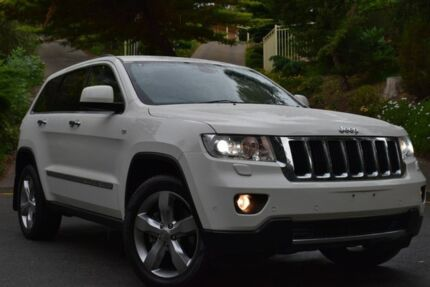 2012 Jeep Grand Cherokee WK MY2012 Limited White 5 Speed Sports Automatic Wagon