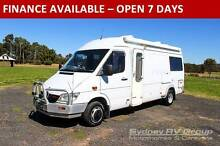 U2968 Mercedes Benz Automatic Campervan with East West Double Bed Penrith Penrith Area Preview