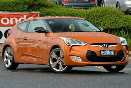 2013 Hyundai Veloster FS2 + Coupe Orange 6 Speed Manual Hatchback Narre Warren Casey Area Preview