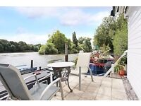 KEW 2 BED HOUSE BOAT WITH STUNNING RIVER VIEWS