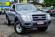 2008 Ford Ranger PJ XL Crew Cab 4x2 Hi-Rider Grey 5 Speed Automatic Utility Archerfield Brisbane South West Preview
