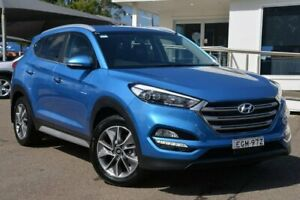 2017 Hyundai Tucson TL2 MY18 Elite AWD Blue 6 Speed Sports Automatic Wagon