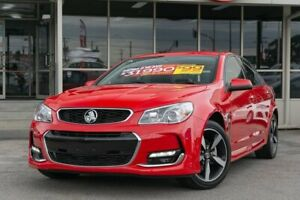 2017 Holden Commodore VF II MY17 SV6 Red 6 Speed Sports Automatic Sedan Dandenong Greater Dandenong Preview