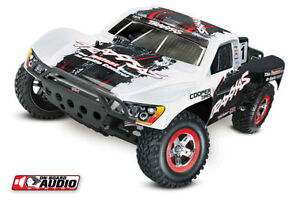 New Traxxas Slash with On-board Audio Module