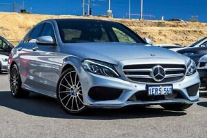 2015 Mercedes-Benz C250 W205 7G-Tronic + Silver 7 Speed Sports Automatic Sedan Osborne Park Stirling Area Preview