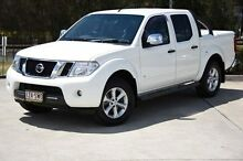 2012 Nissan Navara D40 S5 MY12 ST-X 550 White 7 Speed Sports Automatic Utility Helensvale Gold Coast North Preview