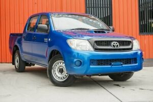 2011 Toyota Hilux KUN16R MY10 SR 4x2 Blue 5 Speed Manual Utility Molendinar Gold Coast City Preview