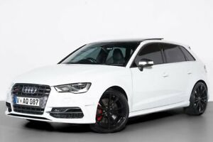 2015 Audi S3 8V MY15 Sportback S Tronic Quattro White 6 Speed Sports Automatic Dual Clutch Hatchback Port Melbourne Port Phillip Preview